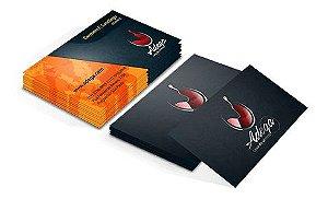 Cartão de Visita 250 grs - Colorido Frente e Verso