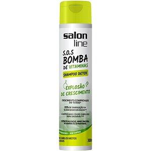 Shampoo S.O.S Bomba Detox Salon Line 300ml