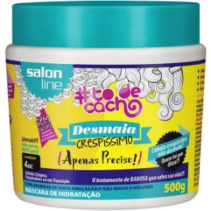 Máscara de Hidratação Desmaia Crespíssimo Salon Line 500g