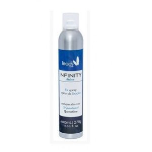 LEADS CARE INFINITY SHINE SPRAY DE FIXAÇÃO 400ML