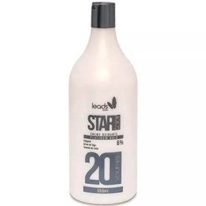 Star Color Platinum Água Oxigenada 20 Volumes 900ml
