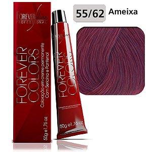 Coloração  Vermelho Especial 55-62 Castanho Claro Ameixa