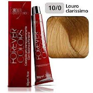 Coloração Forever Colors - Natural 10-0 Louro Claríssimo