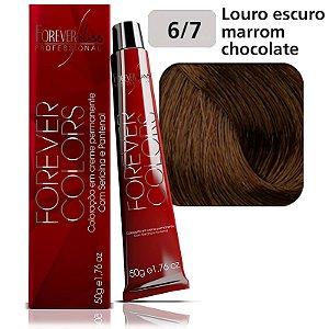 Coloração  Marrom 6-7 Louro Escuro Marrom Chocolate