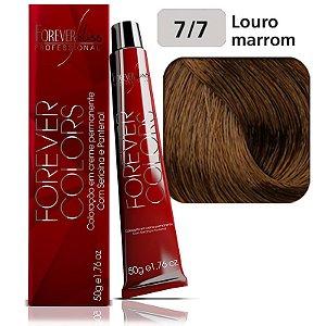 Coloração Forever Colors - Marrom 7-7 Louro Marrom