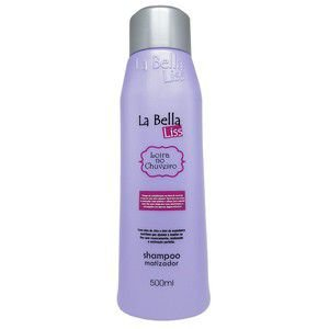 Loira no Chuveiro La Bella Liss Shampoo Matizador 500ml