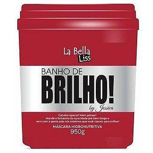 Banho de Brilho Máscara Hidronutritiva 950G La Bella Liss