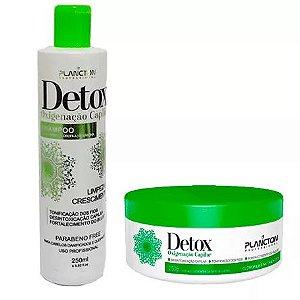 Kit Detox Capilar Plancton Shampoo 250ml e Máscara 250g