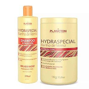 Kit Banho de Verniz Plancton Shampoo 250ml e Máscara 1kg