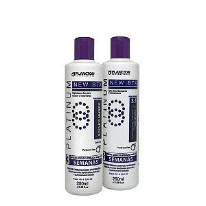 Kit BTX Platinum Plancton Shampoo e Condicionador 250ml