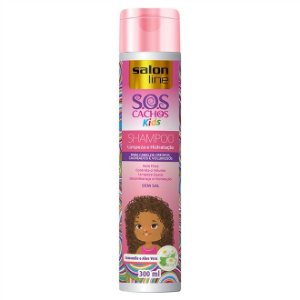 SHAMPOO S.O.S CACHOS KIDS SALON LINE 300ML