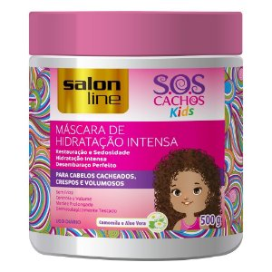 MÁSCARA S.O.S CACHOS KIDS SALON LINE 500G