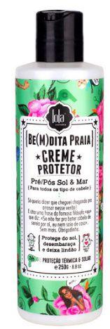 Creme Protetor Lola Be(m)dita Praia Pré /Pós Sol e Mar 250g