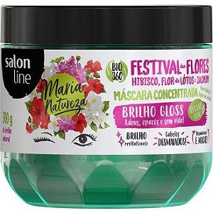 Máscara Festival Das Flores - Brilho - 300g - Maria Natureza