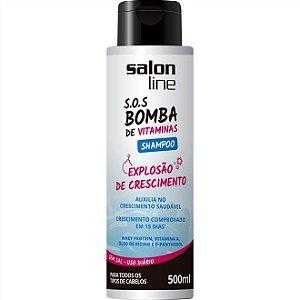 Shampoo Salon Line S.O.S Bomba De Vitaminas 300ml