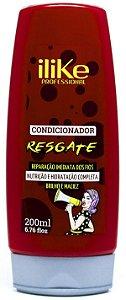 ILIKE RESGATE CONDICIONADOR RECONSTRUÇÃO INTENSA 200ML
