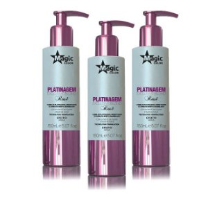 Kit Atacado Magic Color  Platinagem Blond Rosê 150ml