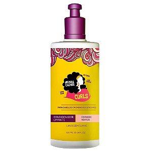For Beauty Linha Cachos Curls Condicionador Limpante Co-Wash 300ml