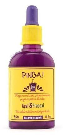 Lola Pinga Açai e Pracaxi Oléo de Tratamento - 55ml
