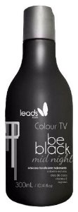 Colour TV Be Black Máscara Tonalizante Cabelos Pretos 300ml