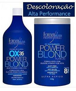 Power Blond Platinum Kit Descoloração Perfeita Ox 35