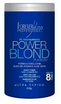 Forever Liss - Power Blond Platinum Pó Descolorante Azul 450ml