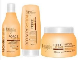 Force Repair Kit Shampoo, Condicionador e Máscara Home Care