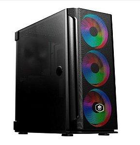 COMPUTADOR GAMER INTEL CORE I5 11400F, 16GB DDR4, SSD 480GB,  GTX 1650 4GB, 600W 80 PLUS