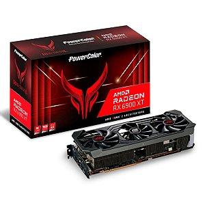 PLACA DE VÍDEO POWERCOLOR RADEON RX 6900 XT RED DEVIL, 16GB, GDDR6, 256BIT - AXRX 6900XT 16GBD6-3DHE/OC