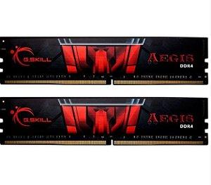 MEMÓRIA 16GB DDR4 CL16 - 3000 MHZ G.SKILL AEGIS (2X8GB) - F4-3000C16D-16GISB