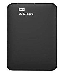 HD WD EXTERNO PORTÁTIL ELEMENTS USB 3.0 2TB -  WDBU6Y0020BBK-WESN