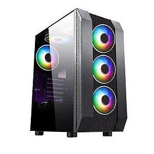 COMPUTADOR GAMER INTEL CORE I3-10100F, 8GB DDR4, HD 1 TB, GPU GEFORCE GTX 1650 OC DUAL 4GB, FONTE 600W 80 PLUS