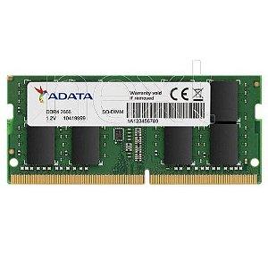 MEMÓRIA ADATA 16GB 2666MHZ DDR4 AD4S266616G19-SGN