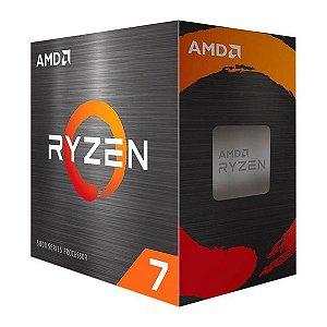 PROCESSADOR AMD RYZEN 7 5700G 3.8GHZ (4.6GHZ TURBO), 8-CORES 16-THREADS, COOLER WRAITH STEALTH, AM4, COM VÍDEO INTEGRADO - 100-100000263BOX