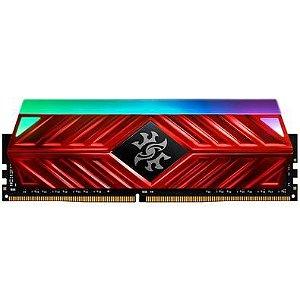 MEMÓRIA XPG SPECTRIX D41, RGB, 8GB, 3000MHZ, DDR4, CL16, VERMELHO - AX4U300038G16A-SR41