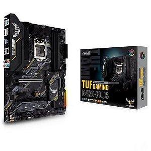 PLACA-MÃE ASUS TUF GAMING B460-PLUS, INTEL LGA 1200, ATX, DDR4 - B460-PLUS