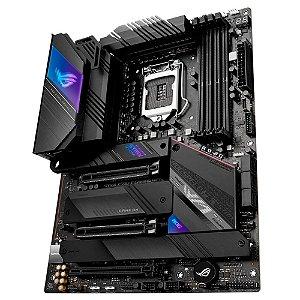 PLACA MÃE ASUS ROG STRIX Z590-E GAMING WIFI, INTEL SOCKET LGA1200, ATX, DDR4, RGB AURA SYNC - Z590-E-GAMING-WIFI