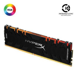MEMÓRIA HYPERX PREDATOR RGB DE 32GB DIMM DDR4 3200MHZ 1,2V PARA DESKTOP - HX432C16PB3A/32