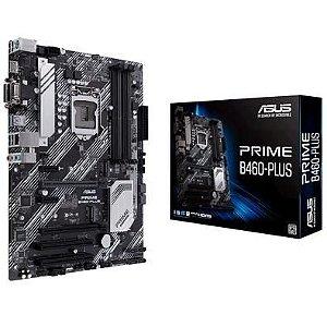 PLACA-MÃE ASUS PRIME B460-PLUS, INTEL LGA 1200, ATX, DDR4 - 90MB13J0-M0EAY0