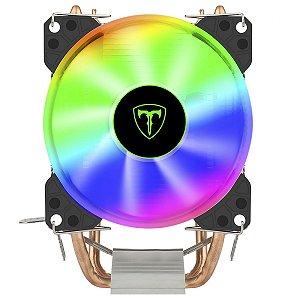 COOLER PARA PROCESSADOR T-DAGGER IDUN M, 90MM, RAINBOW, INTEL/AMD, T-GC9109 M