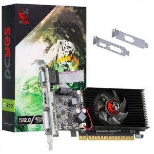 PLACA DE VÍDEO NVIDIA GEFORCE GT 610 DDR3 2GB 64BIT SINGLE FAN - LOW PROFILE - PA610GT6402D3LP
