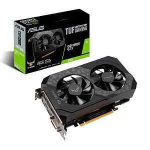 PLACA DE VIDEO ASUS GEFORCE GTX 1650 4GB GDDR6 TUF GAMING 128-BIT, TUF-GTX1650-4GD6-GAMING