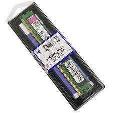 MEMÓRIA 4GB DDR3 1333MHZ KINGSTON - KVR1333D3N9/4G