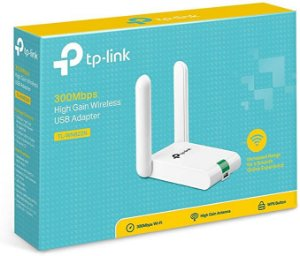 ADAPTADOR USB WIRELESS TP LINK 300MBPS TL-WN822N