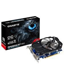 PLACA DE VÍDEO R7 350 2GB DDR5 128BITS GIGABYTE