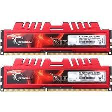 MEMÓRIA 2X4GB DDR3 1600MHZ G.SKILL