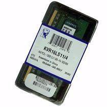 MEMÓRIA 4GB DDR3L 1600MHZ KINGSTON - NOTEBOOK