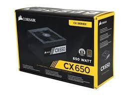 FONTE CORSAIR CX650 650W, 80 PLUS BRONZE, PFC ATIVO - CP-9020122-BR