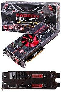 PLACA DE VÍDEO HD 5830 1GB DDR5 256BITS XFX