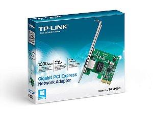 PLACA DE REDE TP-LINK PCI EXPRESS 10/100/1000MBPS - TG-3468 LOW PROFILE